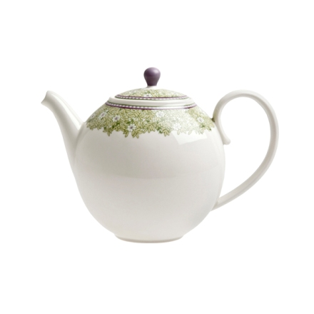 Denby Monsoon Daisy Green  Teapot