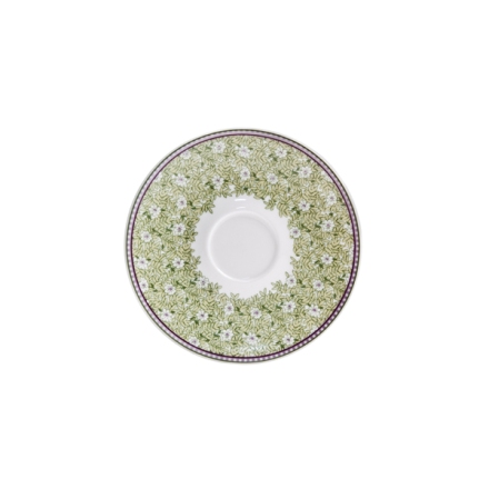 Denby Monsoon Daisy Green  Tea Saucer