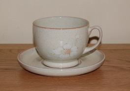 Denby Daybreak  Breakfast Cup and Saucer