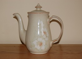Denby Daybreak  Coffee Pot