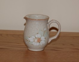 Denby Daybreak (Older colour, paler rim) Jug - Small Cream