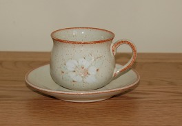 Denby Daybreak (Newer colour - browner rim) Espresso Cup