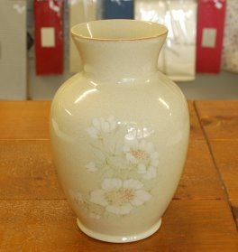 Denby Daybreak (Older colour, paler rim) Vase - Large