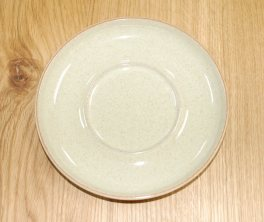 Denby Daybreak (Older colour, paler rim) Large Saucer