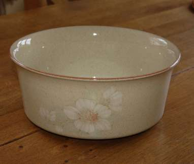 Denby Daybreak (Older colour, paler rim) Souffle Dish - Large
