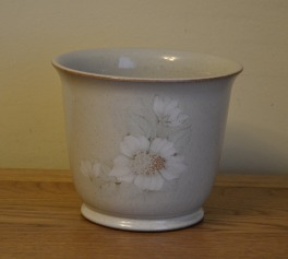 Denby Daybreak (Older colour, paler rim) Plant Pot