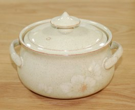 Denby Daybreak (Older colour, paler rim) Casserole Dish - Medium
