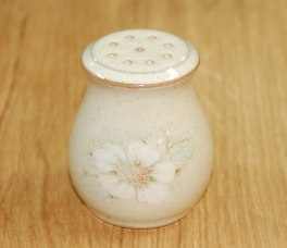 Denby Daybreak (Older colour, paler rim) Pepper Pot - Small