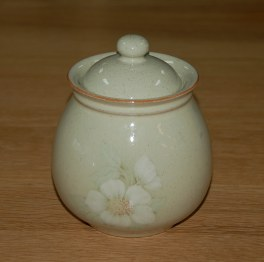 Denby Daybreak (Older colour, paler rim) Storage Jar - Small