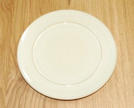 Denby Drama Cream Wide Rimmed Teaplate