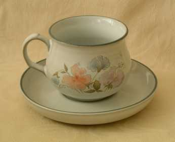Denby Encore  Tea Cup and Saucer
