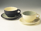 Denby Energy Charcoal/White Breakfast Cup