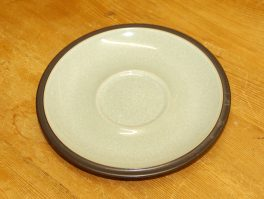 Denby Energy Charcoal/Green Breakfast Saucer