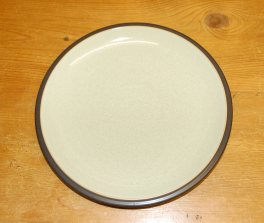 Denby Energy Charcoal/Green Dinner Plate