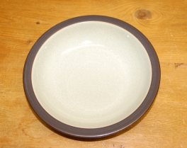 Denby Energy Charcoal/Green Rimmed Bowl