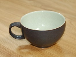 Denby Energy Charcoal/Green Tea Cup