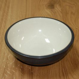 Denby Energy Charcoal/White Soup/Cereal Bowl