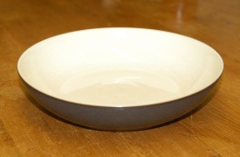 Denby Energy Charcoal/White Pasta Bowl