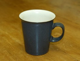Denby Energy Charcoal/White Small Mod Mug