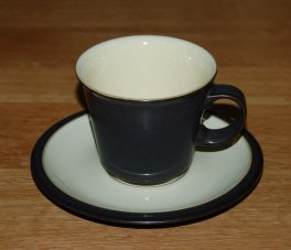 Denby Energy  Coffee Cup and Saucer
