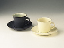 Denby Energy Charcoal/Green Espresso Cup