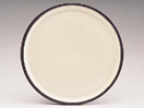 Denby Energy Charcoal/White Round Platter