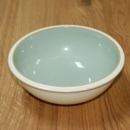 Denby Energy White/Green Soup/Cereal Bowl