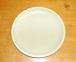 Denby Energy White/Green Salad/Dessert Plate