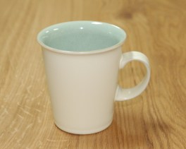 Denby Energy White/Green Small Mod Mug