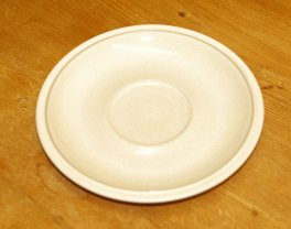 Denby Energy White/White Breakfast Saucer