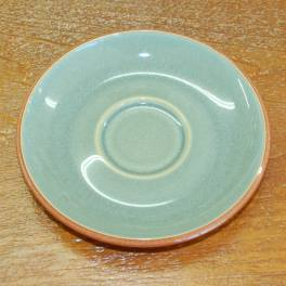 Denby Fire Green Tea Saucer