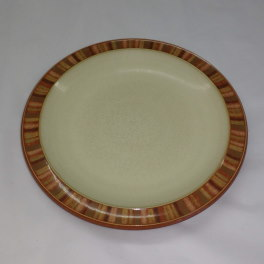 Denby Fire Stripes Teaplate