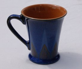 Denby Flame Mugs