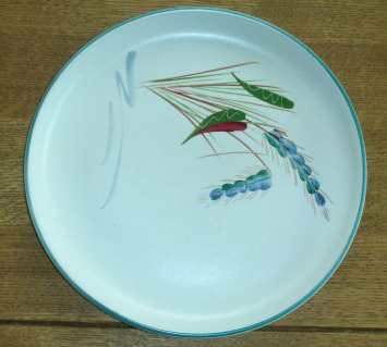Denby Greenwheat  Salad Plate