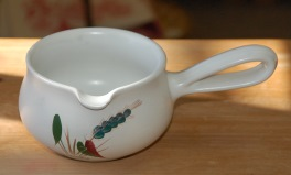 Denby Greenwheat  Sauce Jug
