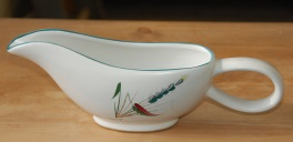 Denby Greenwheat  Sauce Boat