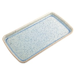 Denby Halo Speckle Rectangular Plate