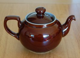Denby Homestead Brown  Teapot - Small