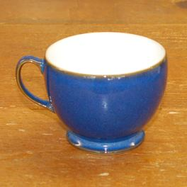 Denby Imperial Blue Discontinued Breakfast Cup