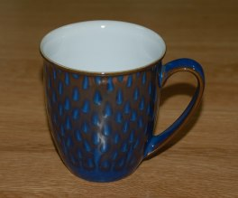 Denby Imperial Blue Discontinued Drop Mug
