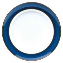 Denby Imperial Blue  Extra Large Wide Rimmed Plate