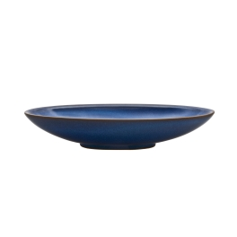 Denby Imperial Blue  Medium Oval Serving Dish