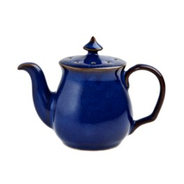Denby Imperial Blue Discontinued Pepper Pot