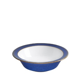 Denby Imperial Blue  Rimmed Small Bowl