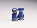 Denby Imperial Blue Discontinued Pepper Pot - Tall