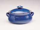 Denby Imperial Blue Discontinued Covered Veg Dish