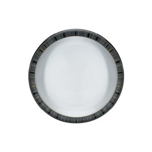 Denby Jet Stripes Medium Plate
