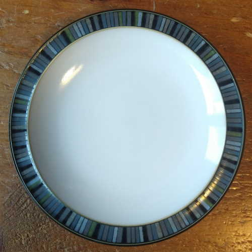 Denby Jet Stripes Small Plate