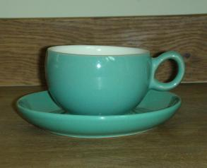 Denby Manor Green  Tea Cup