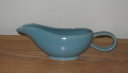 Denby Manor Green  Sauce Boat